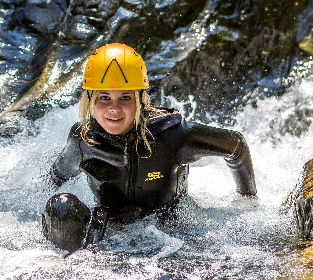 canyoning fun